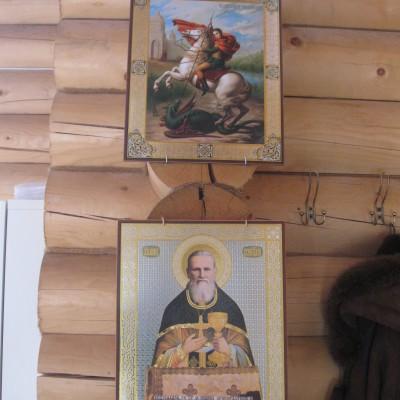 Приобретение икон для храма