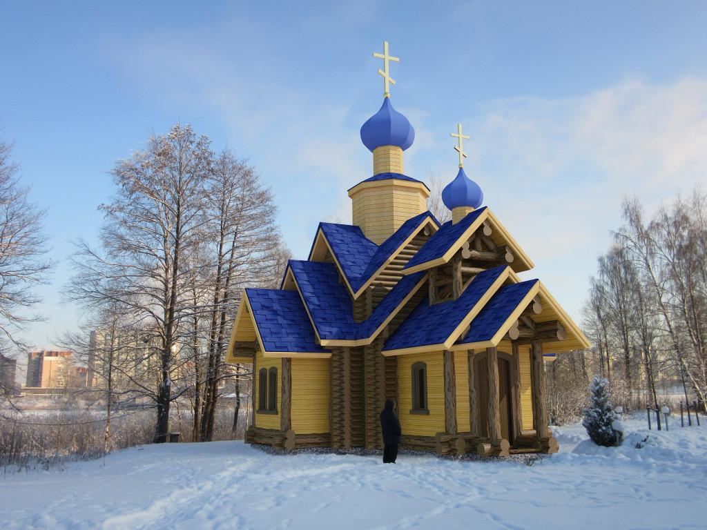 Храм-часовня святителя Николая Чудотворца-1